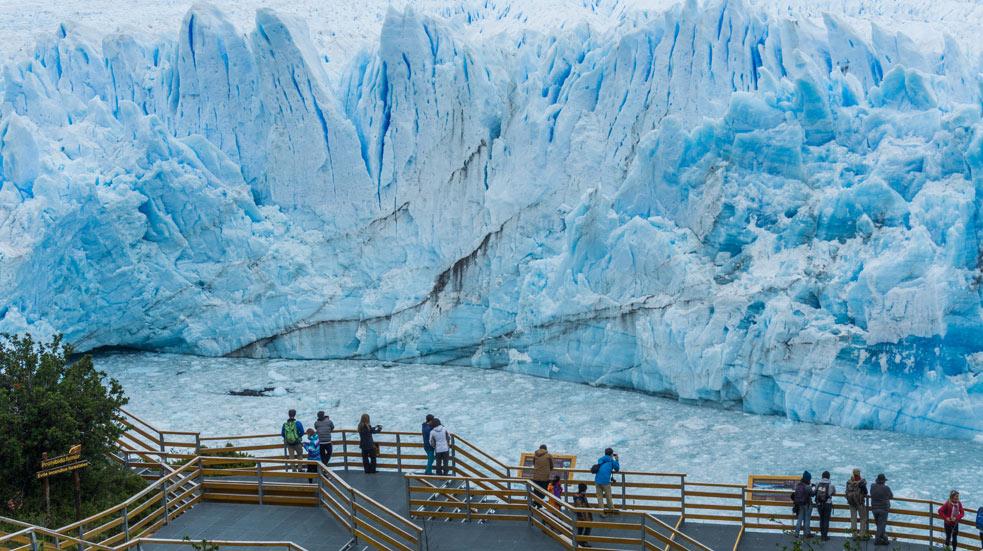 Ledovec Perito Moreno a Patagonie