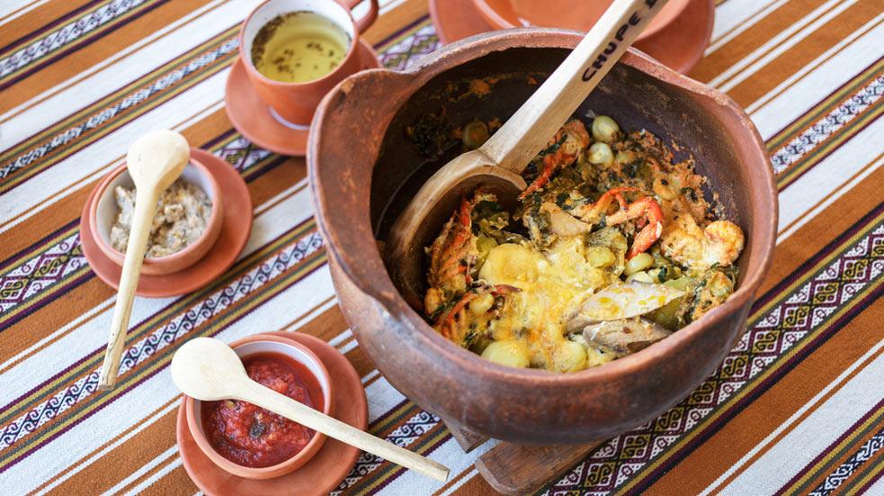 Jídlo a pití v Peru